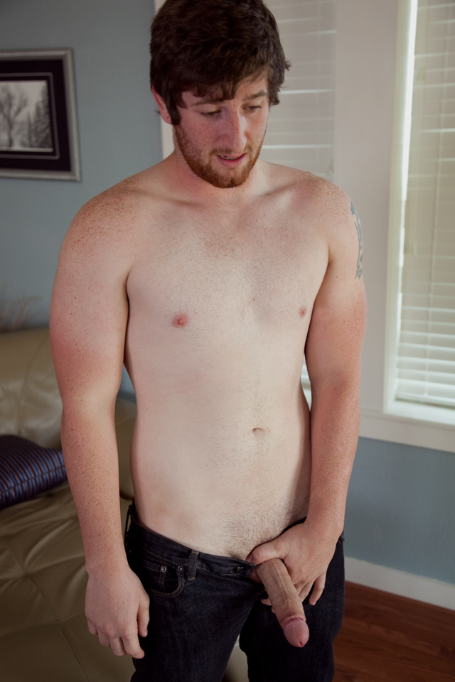 Southern-Strokes-Justin-Redhead-with-Uncut-Cock-Jerkoff-05 Amateur Straight Red Headed Texas Redneck Jerks His Big Uncut Cock
