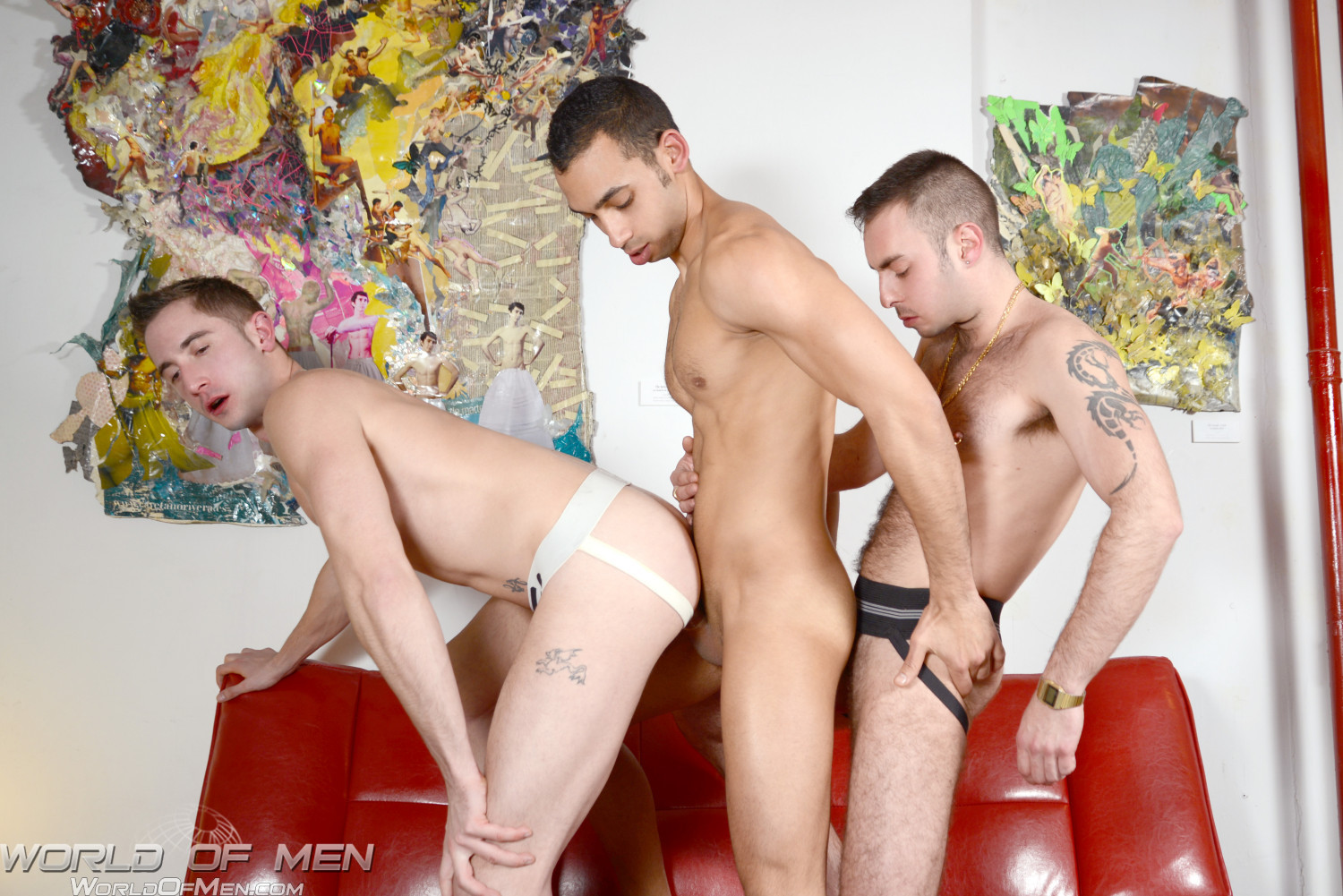 World-of-Men-Macanao-Torres-and-Juan-Lopez-and-Elio-Guzman-threeway-fucking-Amateur-Gay-Porn-09 Amatuer Gay Three Way Fucking At A Bathhouse in Madrid Spain