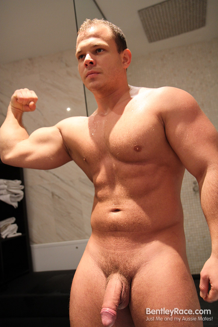 Bentley-Race-Dennis-Conerman-Muscle-Bear-Jerking-Off-Big-Uncut-Cock-Amateur-Gay-Porn-13 Amateur Hungarian Muscle Bear Jerks His Huge Uncut Cock