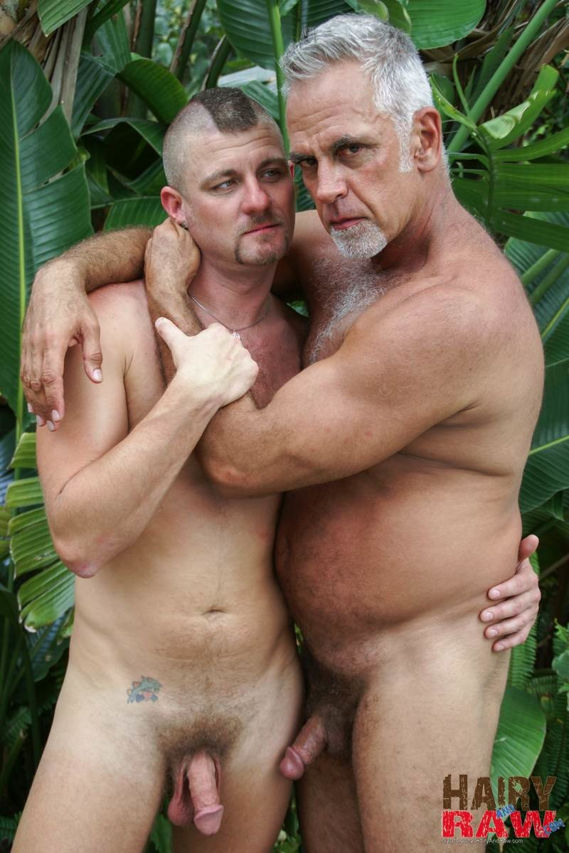 Hairy and Raw Daddy Jeff Grove and Christian Matthews Bareback BBBH Amateur Gay Porn 14 Amateur Hairy Silver Daddy With Thick Cock Barebacks His Hung Pool Boy