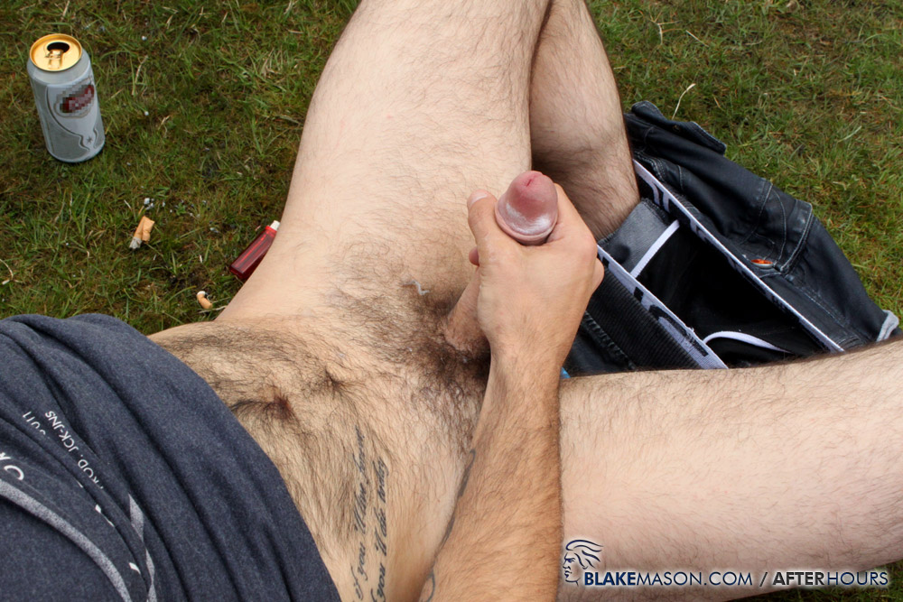 Blake-Mason-Mating-Season-Kai-Fraser-Bradley-Josh-Matt-Riley-Circle-Jerk-Big-Uncut-Cocks-Amateur-Gay-Porn-17 Circle Jerk While Camping With Six Amateur Big Uncut Cock Guys