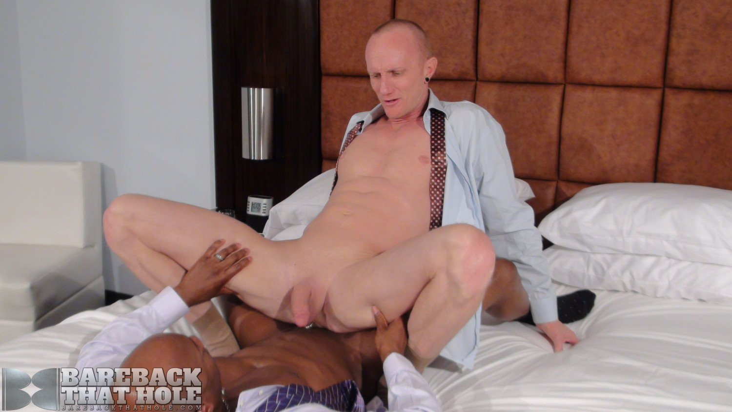 Bareback-That-Hole-Champ-Robinson-and-Mason-Garet-Interracial-Big-Black-Cock-Bareback-Amateur-Gay-Porn-14 Black Corporate Executive Barebacks His White Co-Worker