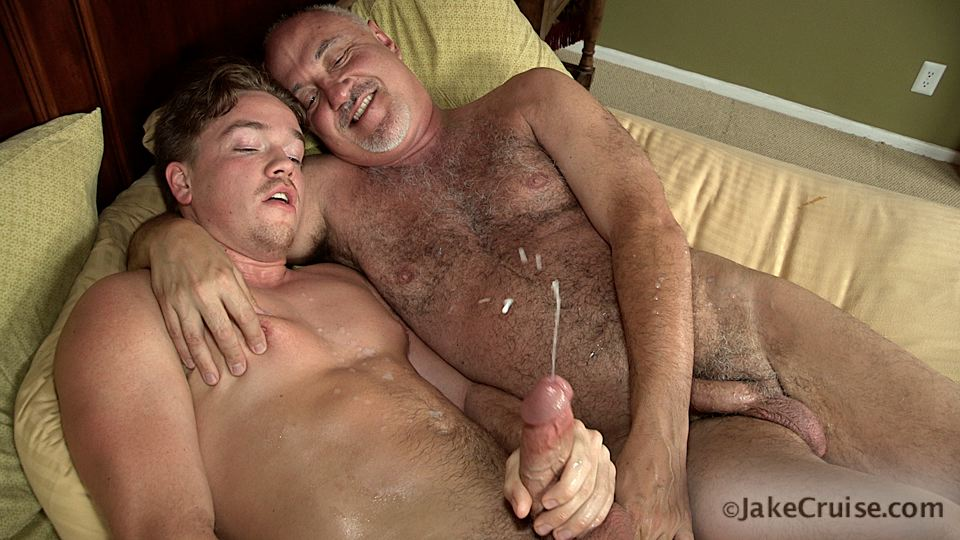 Jake Cruise Lucas Knight Hairy Daddy Sucks A Big Boy Cock Amateur Gay Porn 15 Jake Cruise: Daddy Sucks A Huge Younger Cock Until It Shoots