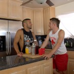 Peter Fever Dayton OConnor and Diego Vena Amatuer Muscle Guys Fucking Amateur Gay Porn 01 150x150 Two Horny Amateur Muscle Buddies Fucking In The Kitchen