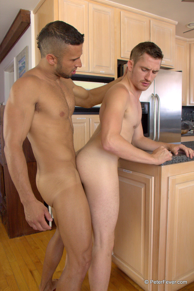 Peter Fever Dayton OConnor and Diego Vena Amatuer Muscle Guys Fucking Amateur Gay Porn 13 Two Horny Amateur Muscle Buddies Fucking In The Kitchen