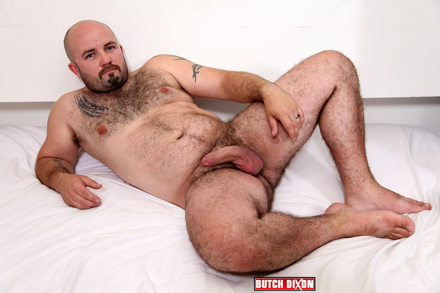 Butch-Dixon-Tommo-Hawk-Chubby-Hairy-Guy-Playing-With-Big-Uncut-Cock-Amateur-Gay-Porn-09 Hairy Chubby Bear Plays With His Thick Uncut Cock And Big Hairy Ass