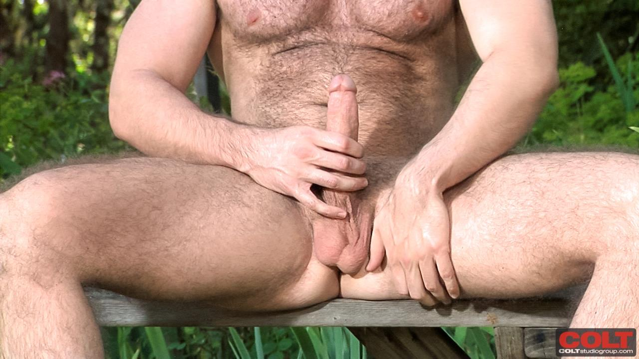 Solo Bear Jacking Off