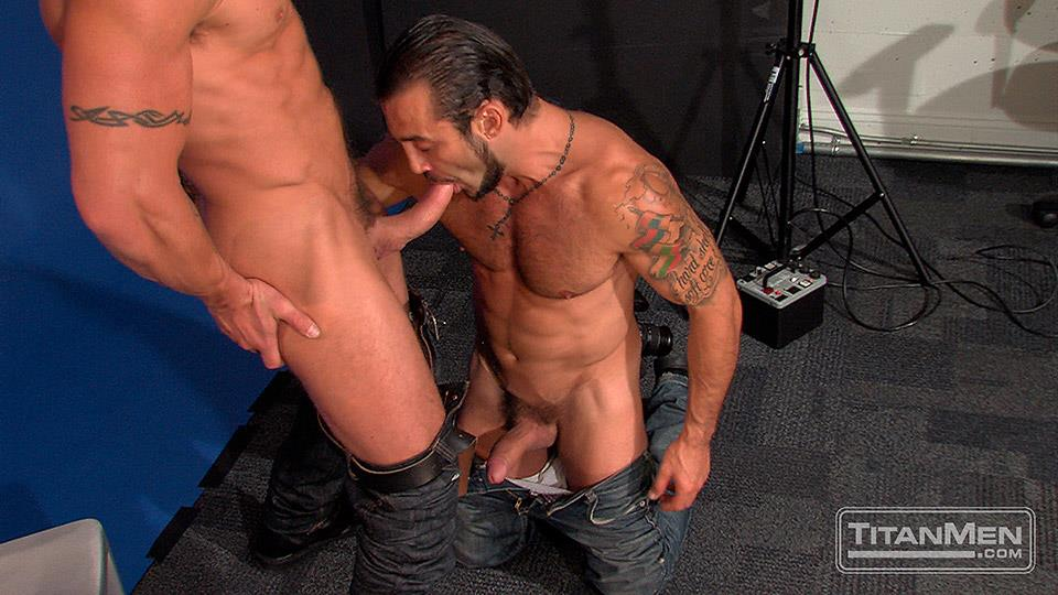 Titan-Men-Pounded-Scene-1-George-Ce-Trenton-Ducati-Muscle-Hunks-With-Big-Uncut-Cock-Fucking-Amateur-Gay-Porn-17 Muscle Hunk With A Thick Uncut Cock Fucks Another Muscle Hunk