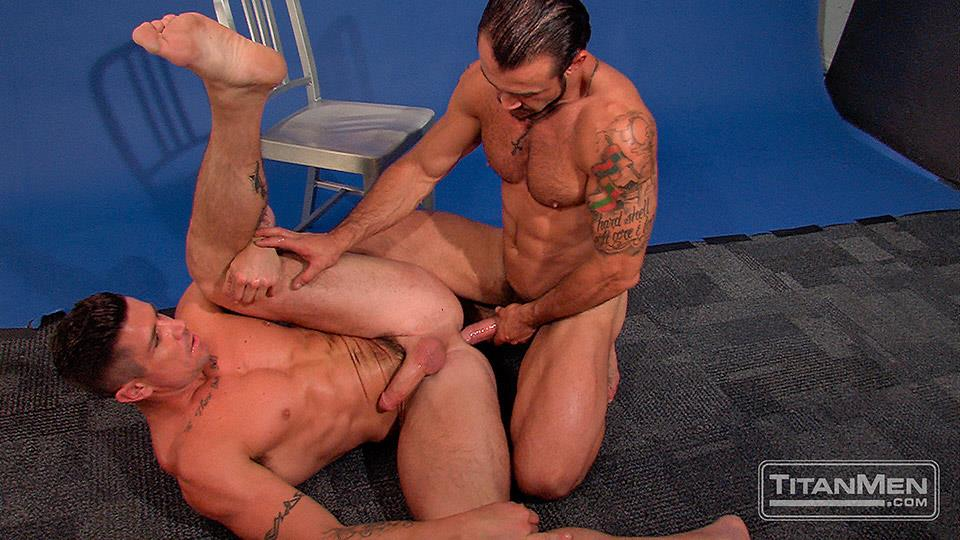 Titan Men Pounded Scene 1 George Ce Trenton Ducati Muscle Hunks With Big Uncut Cock Fucking Amateur Gay Porn 27 Muscle Hunk With A Thick Uncut Cock Fucks Another Muscle Hunk