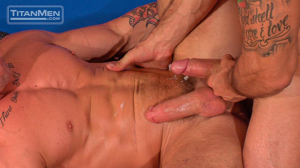 Titan Men Pounded Scene 1 George Ce Trenton Ducati Muscle Hunks With Big Uncut Cock Fucking Amateur Gay Porn 33 Muscle Hunk With A Thick Uncut Cock Fucks Another Muscle Hunk