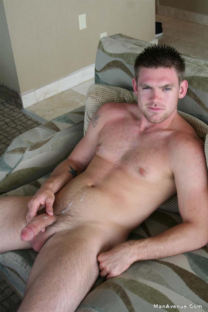 Male straight hunk jack off gay 2