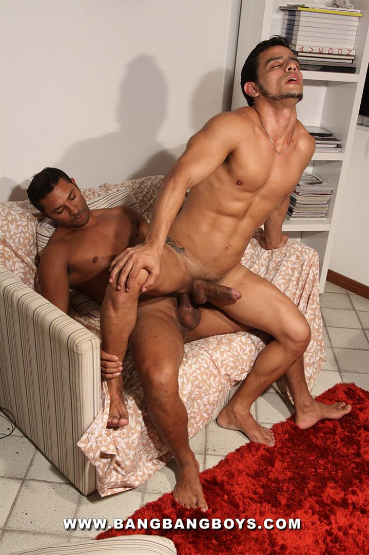 Bang-Bang-Boys-Marcelo-Mastro-and-Igor-DaSilva-Latin-Bareback-Huge-Cock-Amateur-Gay-Porn-13 Amateur Muscle Brazilian Studs Barebacking With Thick Uncut Cocks