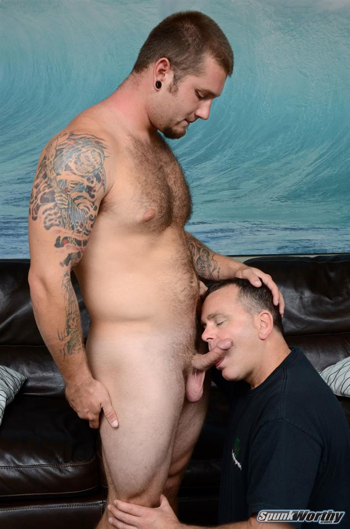 SpunkWorthy-Preston-Straight-Guy-Getting-His-First-Blowjob-Hairy-Cub-Amateur-Gay-Porn-11 Straight Hairy Young Muscle Cub Gets His First Blowjob From Another Guy