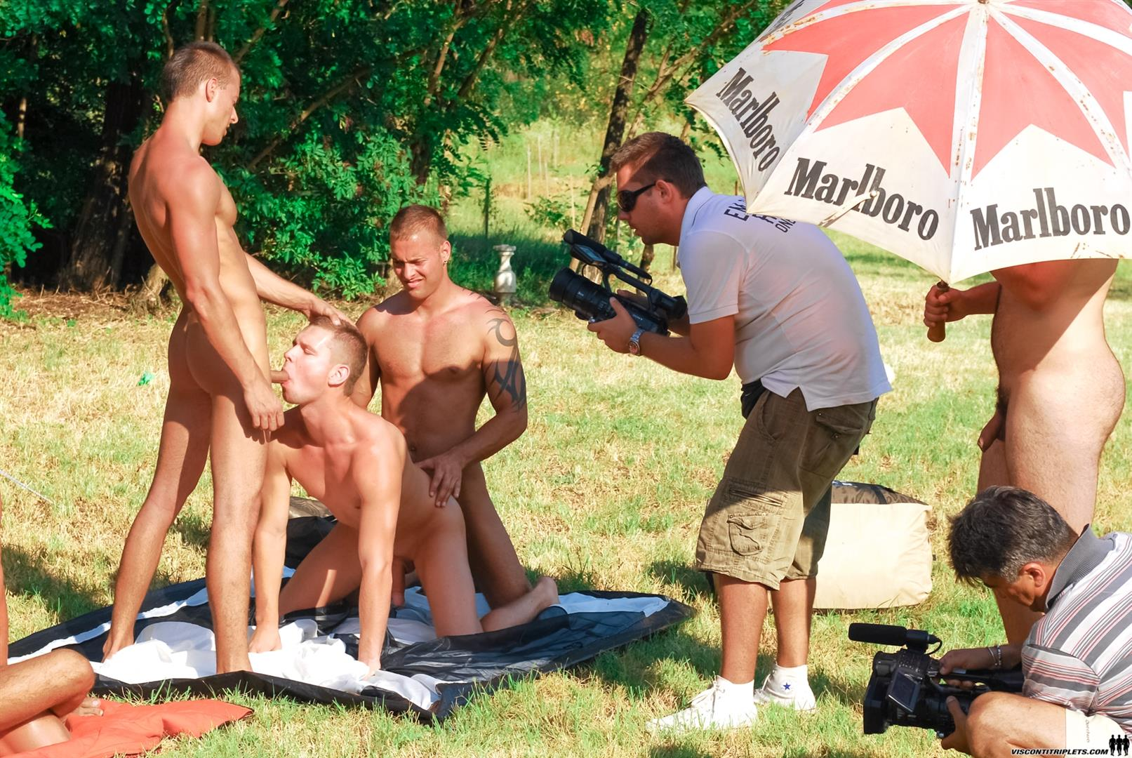 Gay sex at nudist farm first time