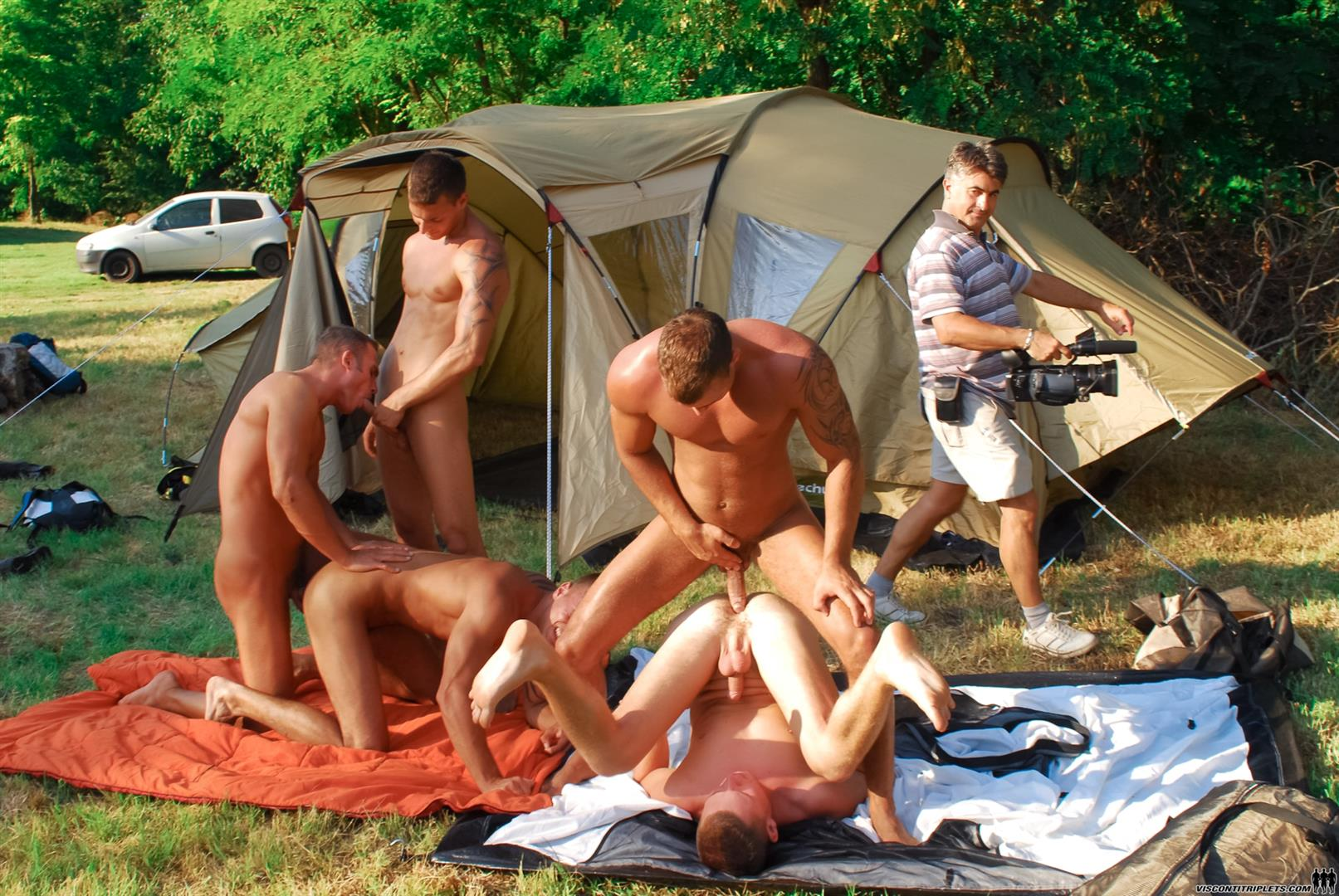 Fucking girlfriend at campground something