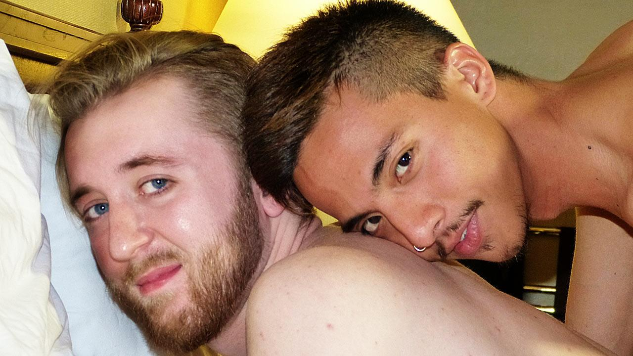 Asian-Boy-Nation-Kenny-Yama-and-Ash-Kendall-Big-Asian-Cock-Fucking-a-Redhead-Amateur-Gay-Porn-01 Horny Redhead Gets Fucked By An Asian With A Big Cock