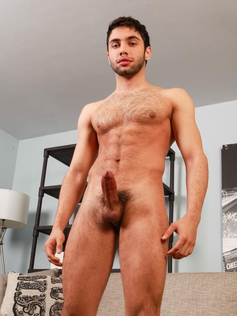 Randy-Blue-Shawn-Abir-Hairy-Arab-Jerking-His-Thick-Cock-Amateur-Gay-Porn-06 Sexy Hairy Arab Shawn Abir Strokes His Thick Arab Cock