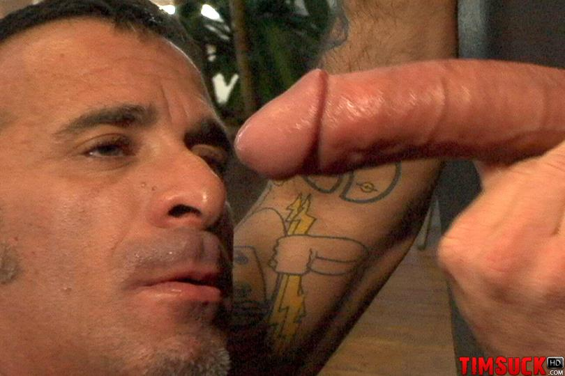 Gay Sucks Glory Hole Cock