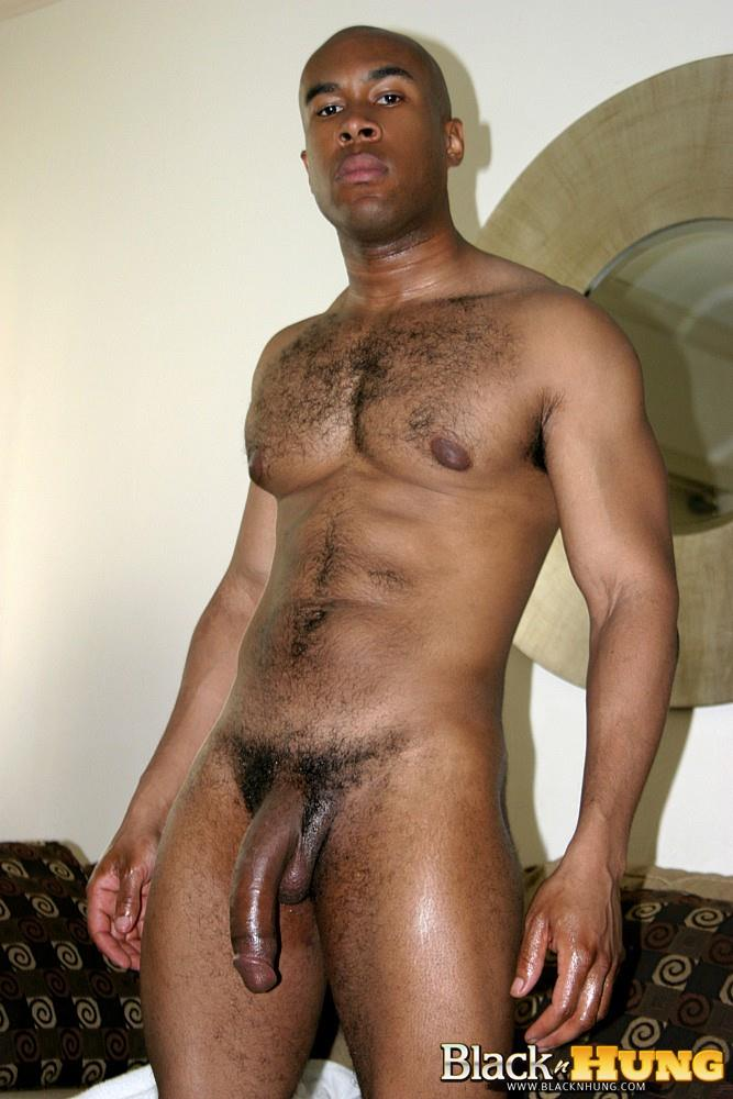 Big Black Gay Hung Cock
