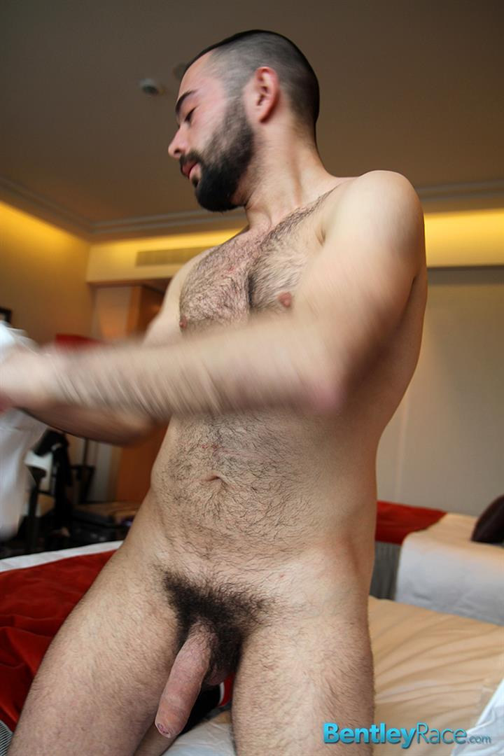 Bentley-Race-Anthony-Russo-Hairy-Italian-Jerking-Off-His-Big-Uncut-Cock-Amateur-Gay-Porn-08 24 Year Old Italian Stud Squirting Cum From His Big Uncut Cock