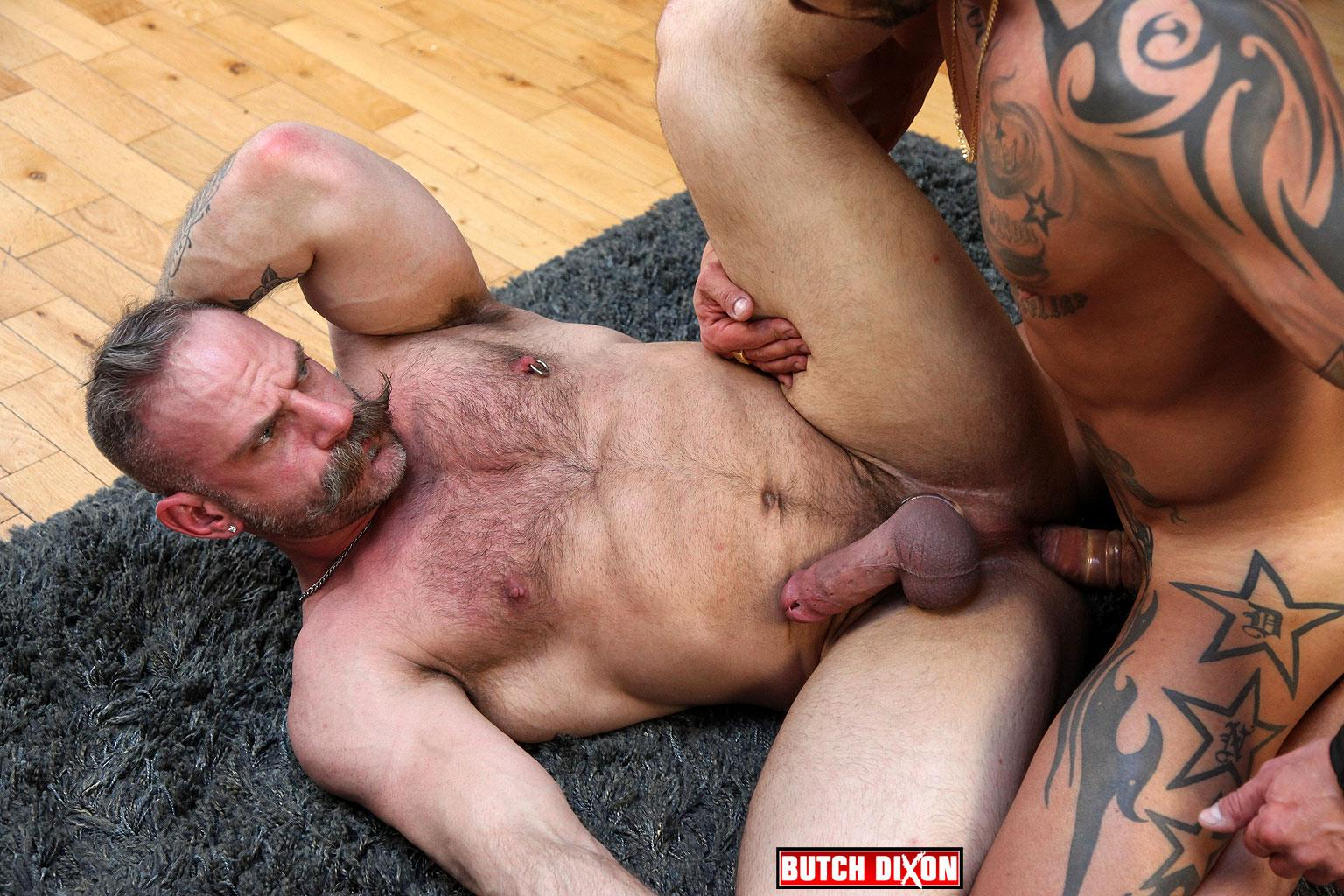 Butch Dixon Samuel Colt and Frank Valencia Hairy Muscle Daddy Getting Fucked By Latino Cock Amateur Gay Porn 12 Happy Fathers Day: Hairy Muscle Daddy Samuel Colt Taking A Big Cock Up The Ass