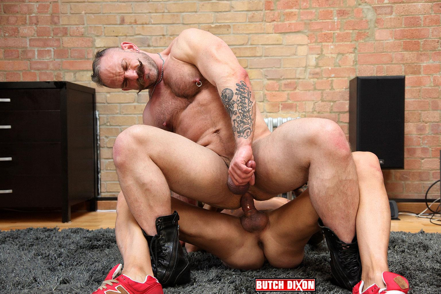 Butch Dixon Samuel Colt and Frank Valencia Hairy Muscle Daddy Getting Fucked By Latino Cock Amateur Gay Porn 15 Happy Fathers Day: Hairy Muscle Daddy Samuel Colt Taking A Big Cock Up The Ass
