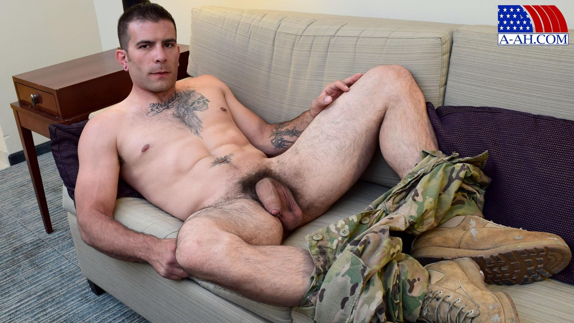 All-American-Heroes-JB-US-Amry-Soldier-Jerking-His-Big-Uncut-Cock-Amateur-Gay-Porn-09 Amateur Straight US Army Specialist Stroking His Big Uncut Cock
