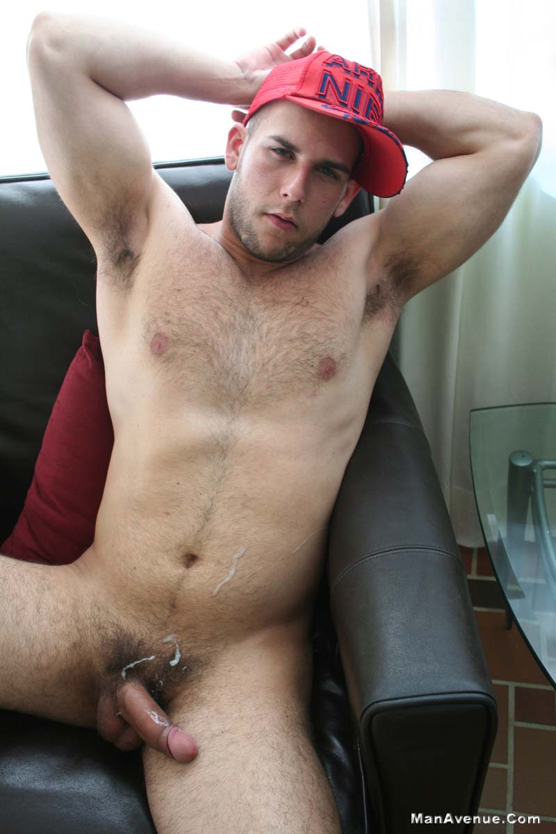 Man-Avenue-14-Muscle-Hunks-Jerking-Off-and-Shooting-Cum-Amateur-Gay-Porn-04 14 Naked Muscle Hunks Jerking Off And Shooting Big Loads Of Cum