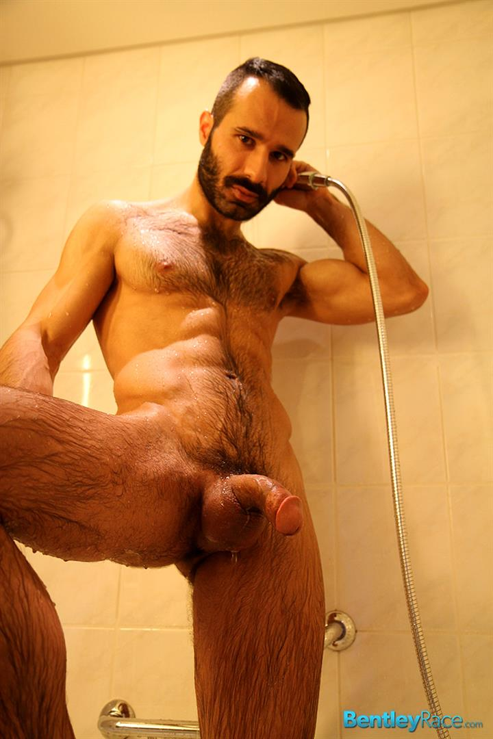 Bentley-Race-Aybars-Hairy-Turkish-Guy-With-A-Huge-Cock-Jerking-Off-Amateur-Gay-Porn-16 Hairy Turkish Guy Aybars Jerking His Thick Cock In The Shower