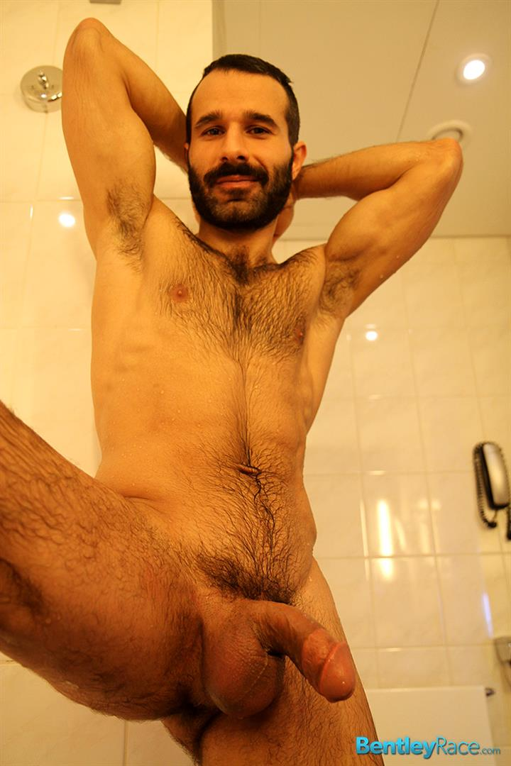 Bentley Race Aybars Hairy Turkish Guy With A Huge Cock Jerking Off Amateur Gay Porn 17 Hairy Turkish Guy Aybars Jerking His Thick Cock In The Shower