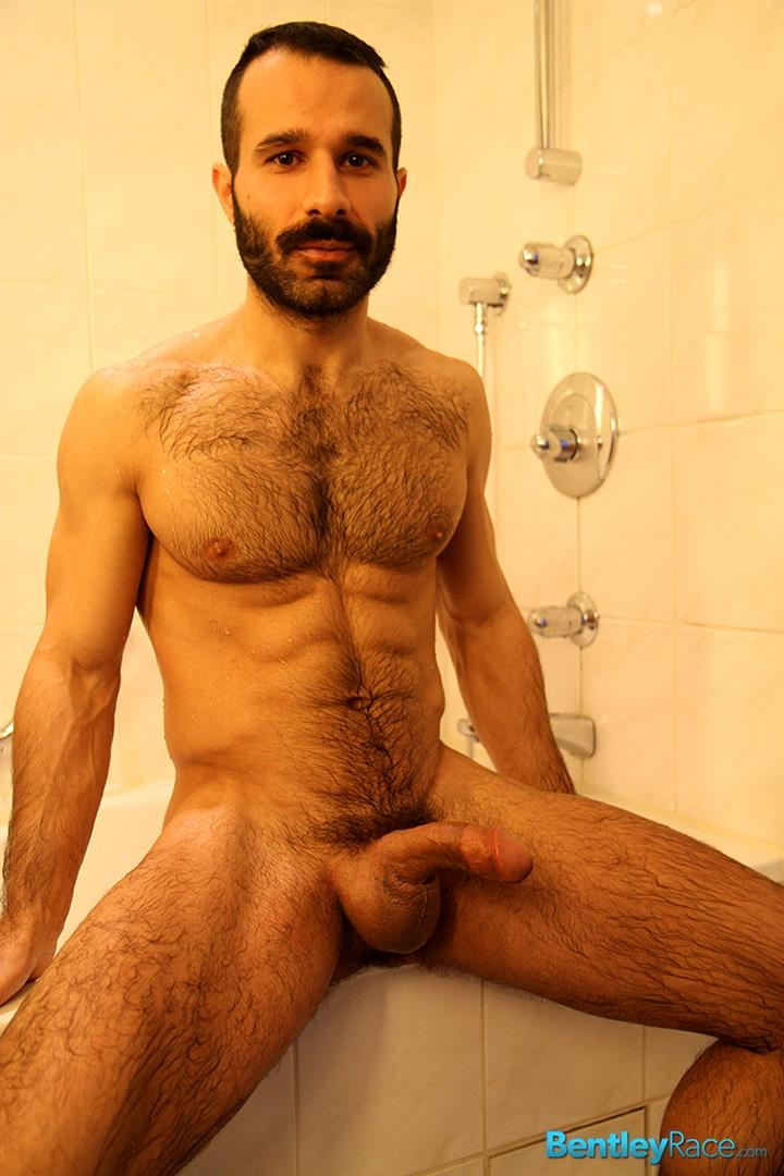 Bentley-Race-Aybars-Hairy-Turkish-Guy-With-A-Huge-Cock-Jerking-Off-Amateur-Gay-Porn-19 Hairy Turkish Guy Aybars Jerking His Thick Cock In The Shower