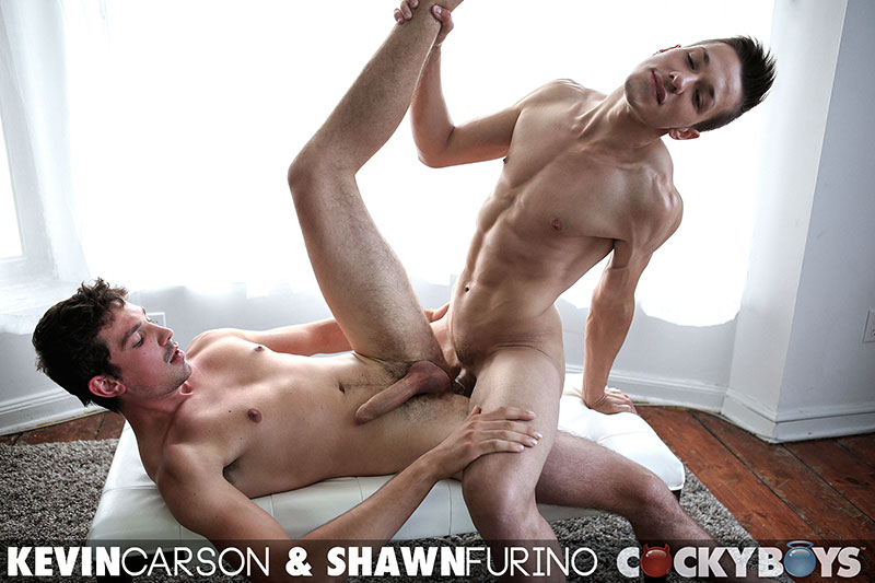 Cockyboys-Shawn-Furino-and-Kevin-Carson-Big-Uncut-Cock-Guys-Fucking-Amateur-Gay-Porn-24 Two New Cockyboy Amateurs Make Their Gay Porn Debuts
