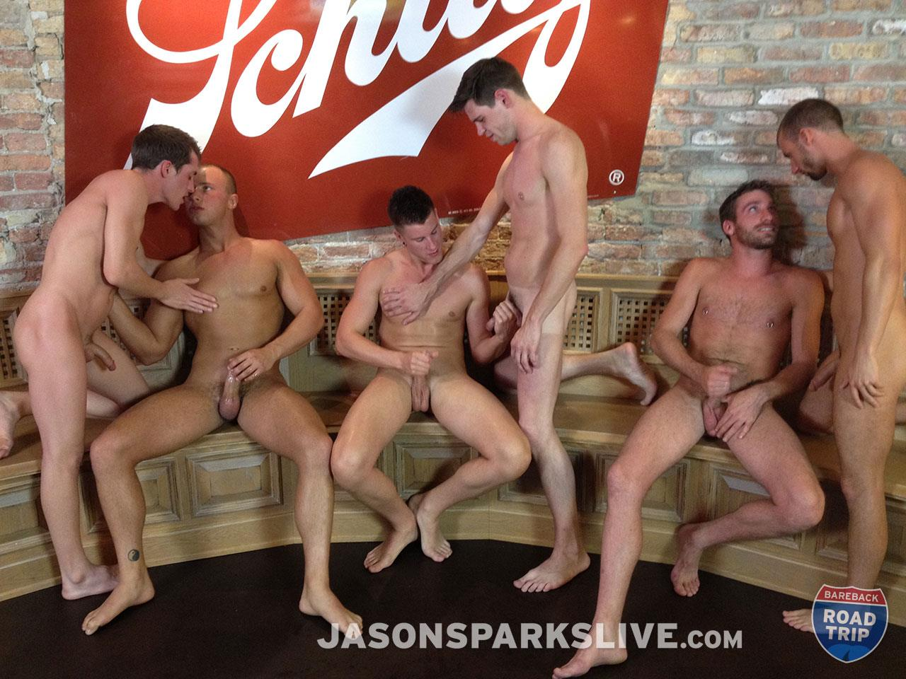 Jason-Sparks-Live-Dustin-Tyler-Shawn-Andrews-Brendon-Scott-Corbin-Riley-Antonio-Paul-Jake-Matthews-Bareback-Orgy-Amateur-Gay-Porn-13 Big Cock Amateur Bareback Orgy in Milwaukee