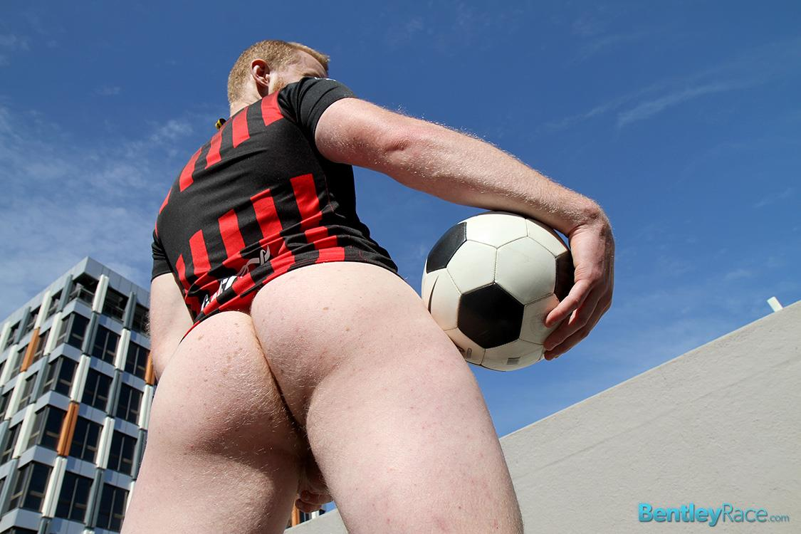Bentley Race Beau Jackson Beefy Redhead Jerking His Big Uncut Cock Amateur Gay Porn 34 Redhead Aussie Soccer Player Naked and Stroking A Big Uncut Cock