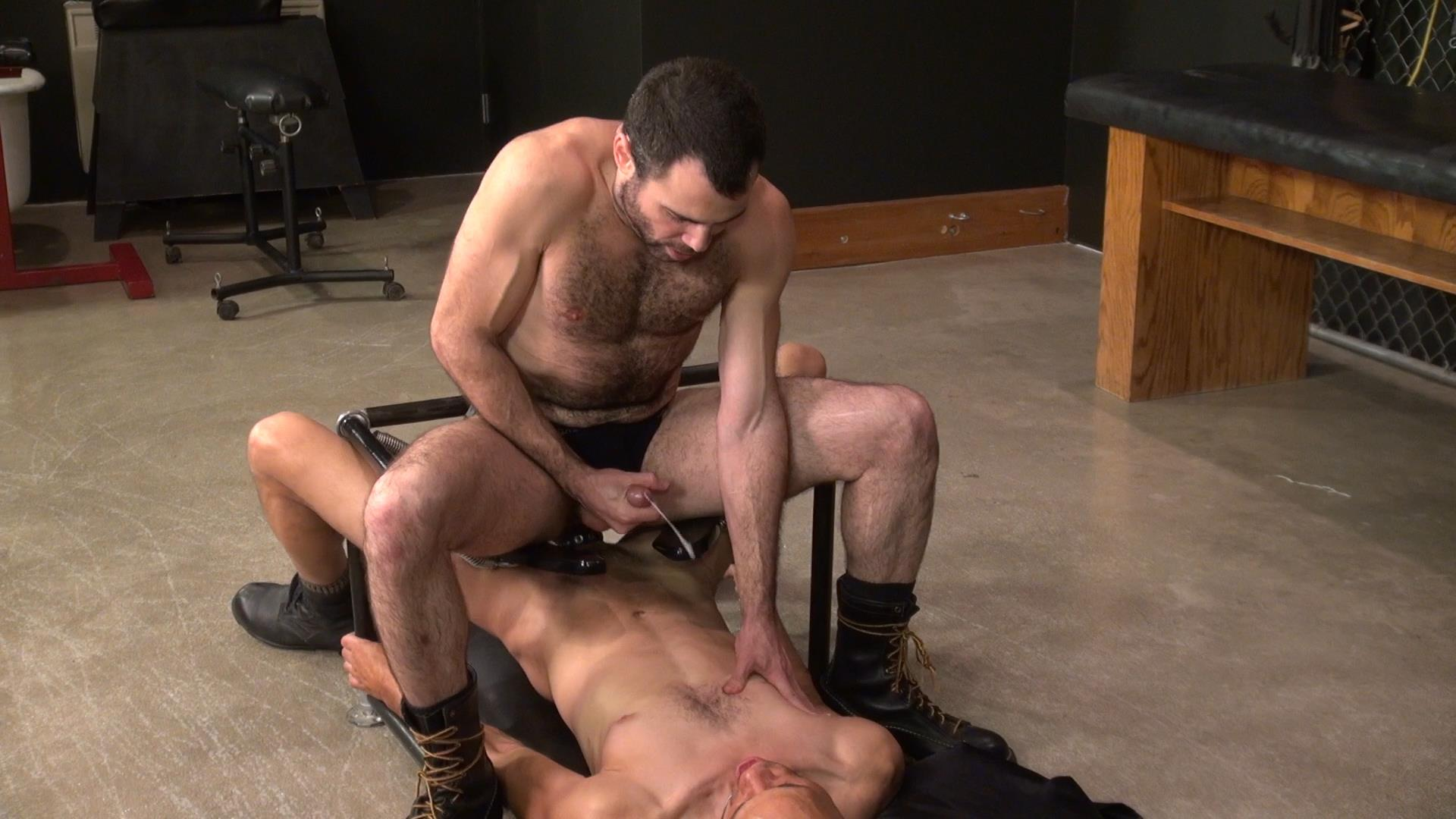 Raw and Rough Dusty Williams and Seth Patrick Barebacking A Stranger at A Sex Club Hairy Amateur Gay Porn 04 Barebacking A Hairy Guy At A Gay Sex Club