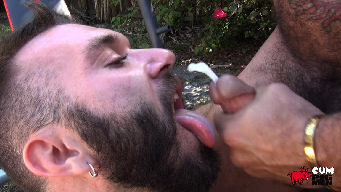 Cum Pig Men Alessio Romero and Ethan Palmer Hairy Muscle Latino Daddy Cocksucking Amateur Gay Porn 18 Hairy Latino Muscle Daddy Gets A Load Sucked Out And Eaten