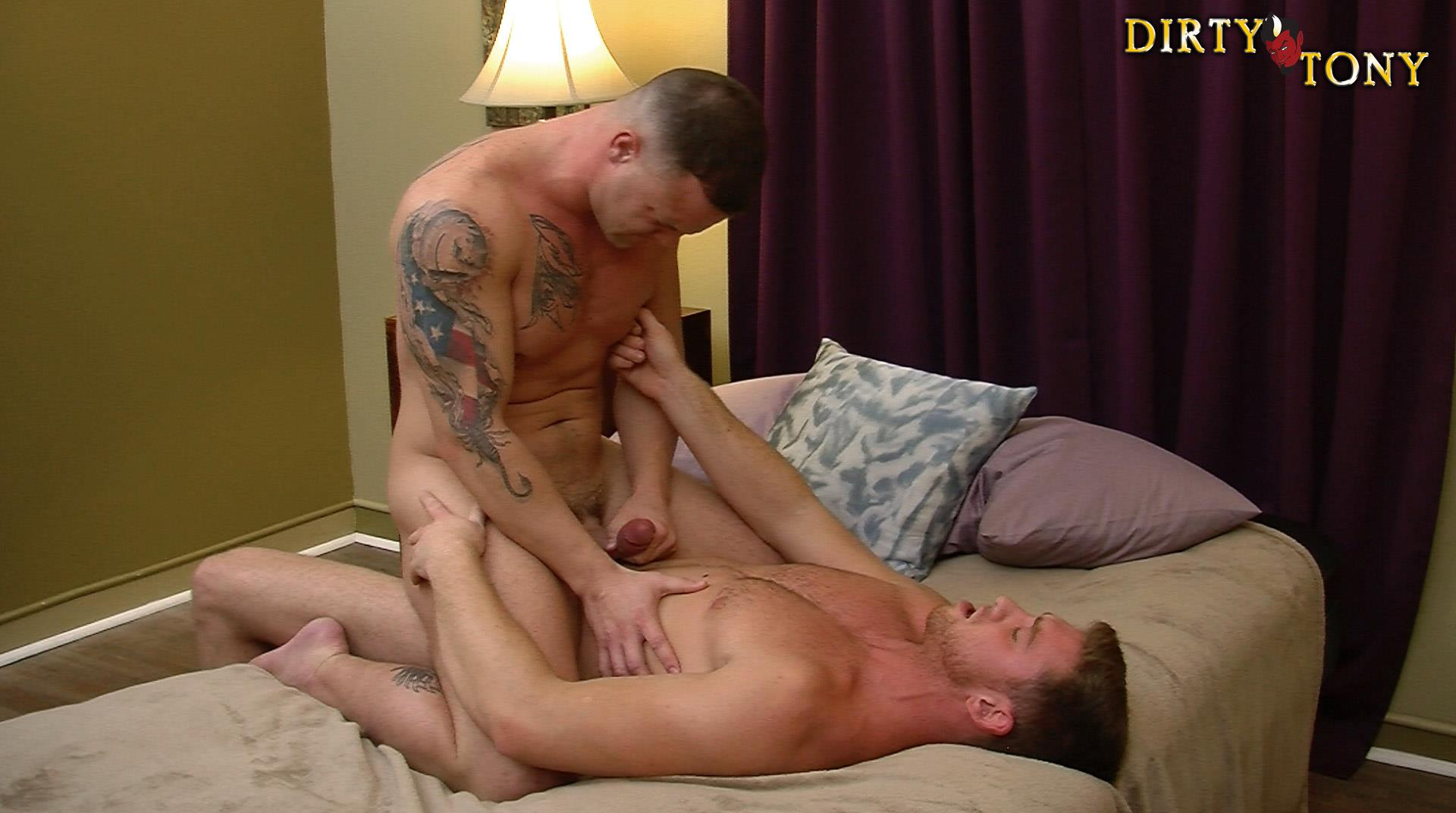 Dirty Tony Logan Blake and Connor Maguire Marine Getting Fucked In the Ass Amateur Gay Porn 14 Former US Marine Takes A Big Uncut Cock Up The Ass