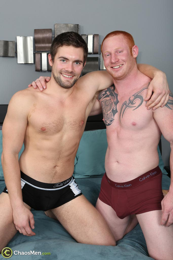 ChaosMen Jordan and Griffin Bareback Redhead Straight Guys Fucking Amateur Gay Porn 02 Straight Redheaded Muscle Hunk Barebacking A Guys Ass