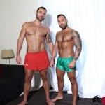 Hard Brit Lads Sergi Rodriguez and Letterio Amadeo Big Uncut Cock Fucking Amateur Gay Porn 01 150x150 Hairy British Muscle Hunks Fucking With Their Big Uncut Cocks