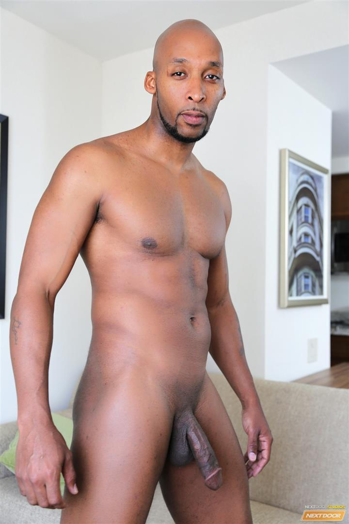 Next Door Ebony Ramsees and King B and Staxx Big Black Cock Group Sex Amateur Gay Porn 01 King B Takes Two Big Black Cocks Up The Ass For His Birthday