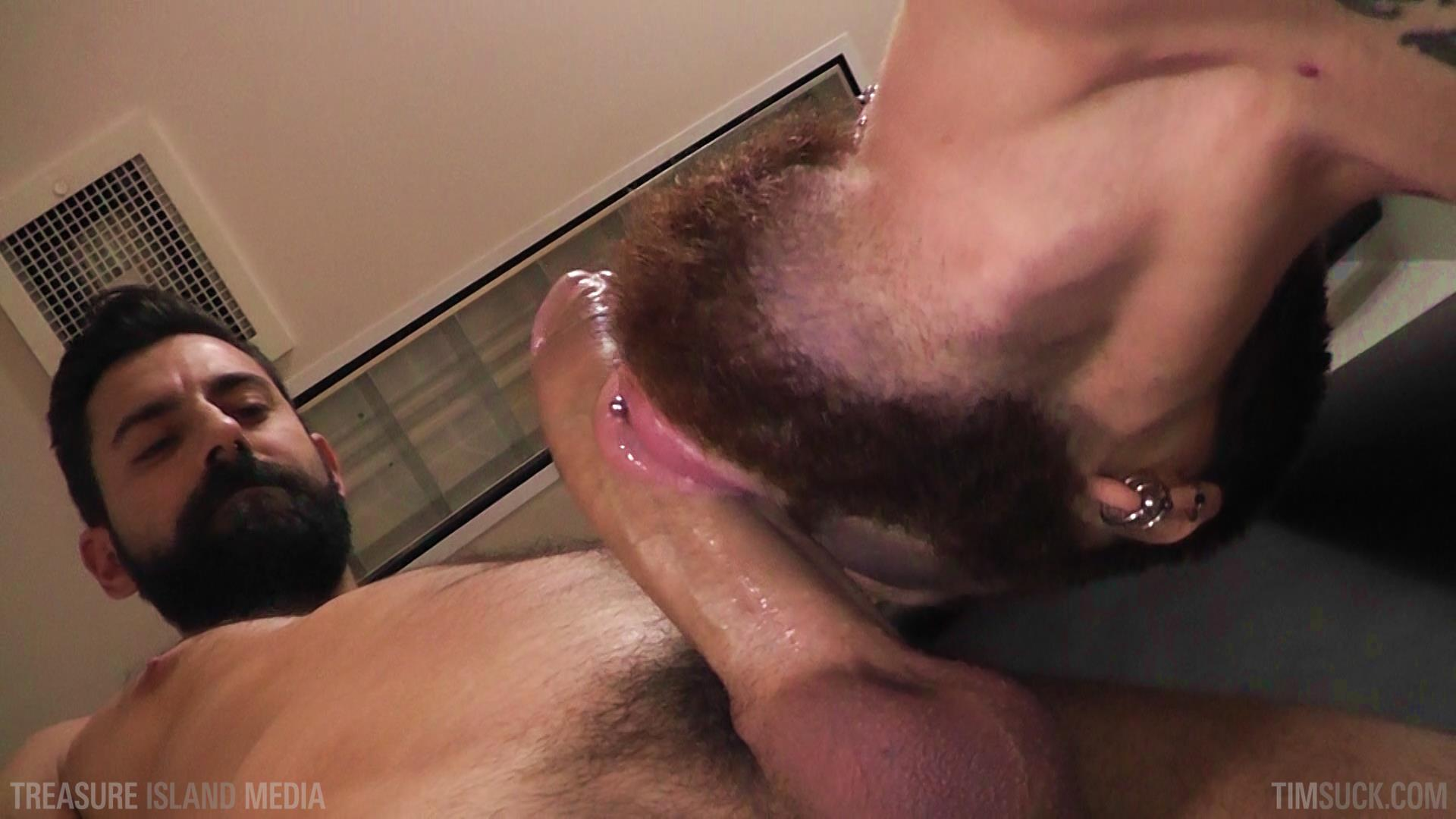 Treasure Island Media TimSuck Pete Summers and Dean Brody Sucking A Big Uncut Cock Amateur Gay Porn 20 Bearded Ginger Services A Big Uncut Cock And Eats The Cum