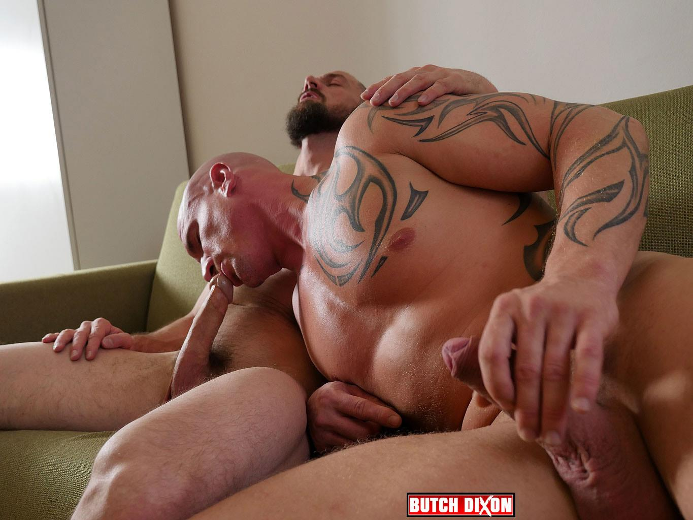Butch-Dixon-Erik-Lenn-and-Mike-Bourne-Masculine-Guys-Fucking-Bareback-Amateur-Gay-Porn-08 Beefy Masculine Guys Fucking Bareback With A Big Uncut Cock