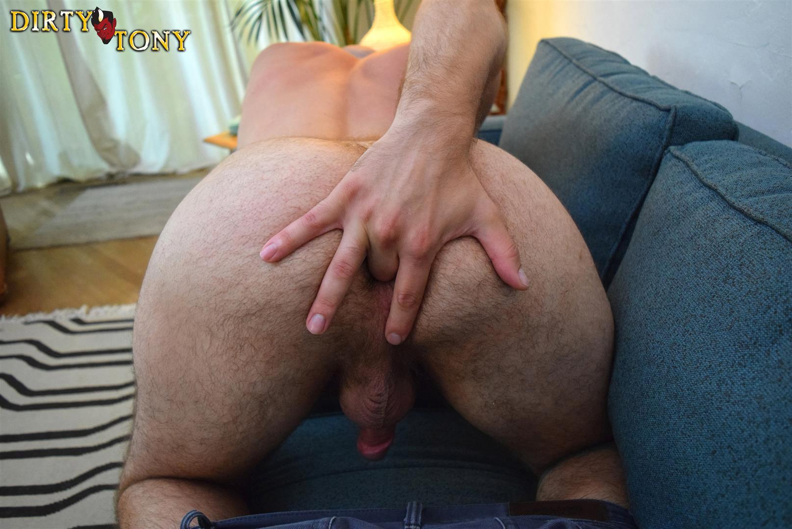 Dirty-Tony-Damon-Andros-Hairy-Otter-With-A-Thick-Cock-Amateur-Gay-Porn-11 Jocked Up Furry Otter Stroking His Thick Cock