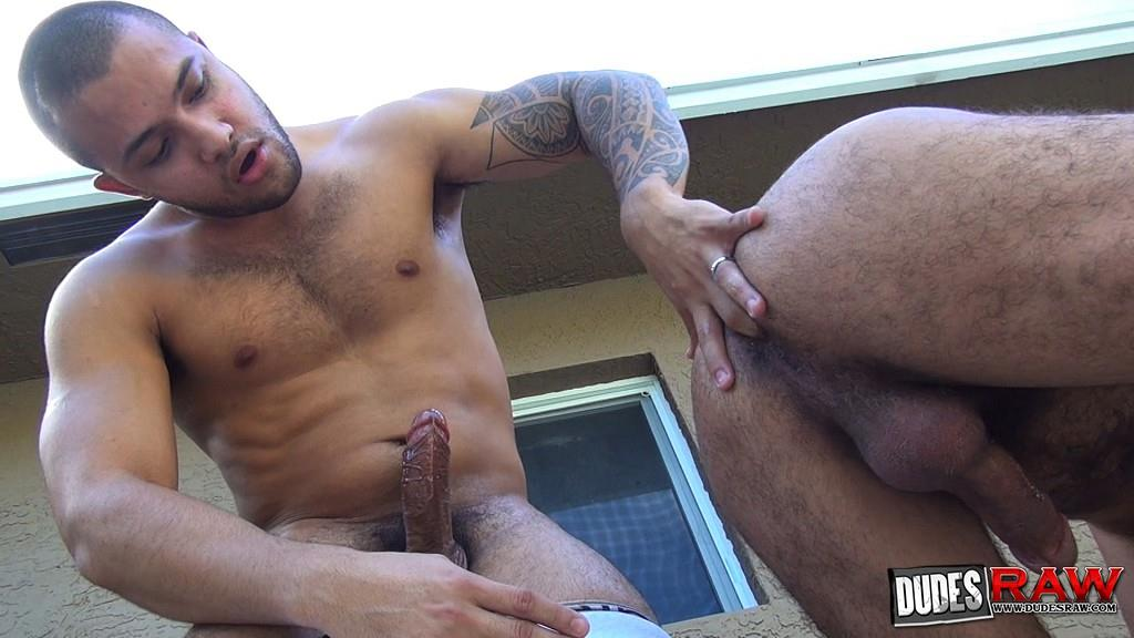 Dudes-Raw-Alessio-Romero-and-Mario-Cruz-Bareback-Muscle-Daddy-Latino-Amateur-Gay-Porn-36 Muscle Daddy Alessio Romero Gets Bred By Mario Cruz