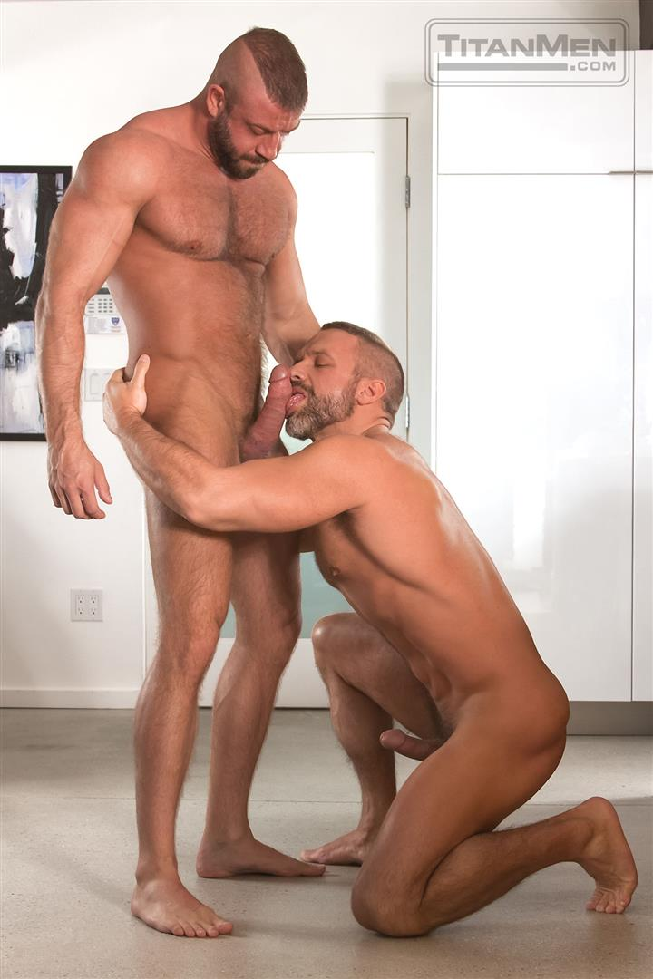 Titanmen Titan Hunter Marx and Dirk Caber Hairy Muscle Daddy Fuck Amateur Gay Porn 05 Dirk Carber Gets Fucked Hard By Another Muscle Daddy With A Thick Cock