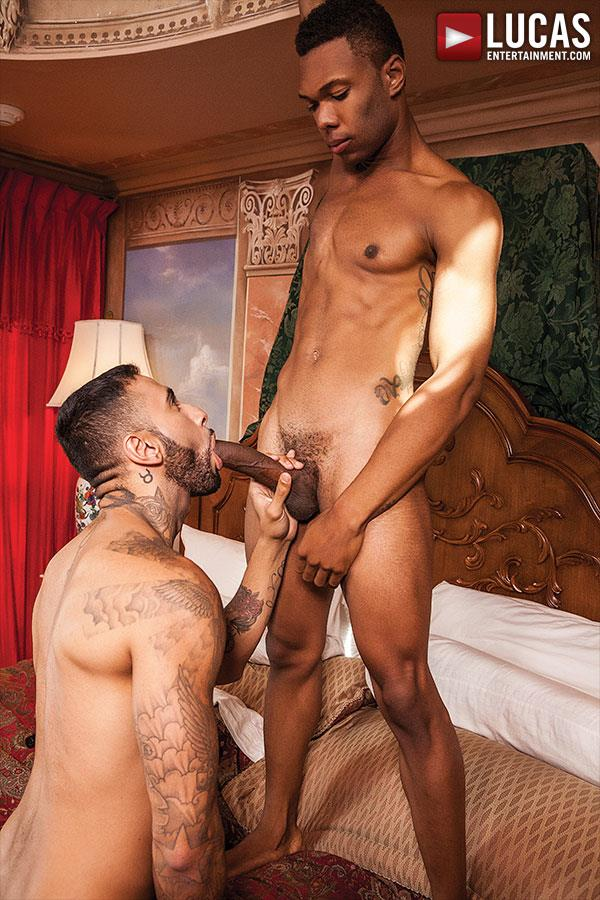 Lucas-Entertainment-Rikk-York-and-DK-Interracial-Bareback-Sex-Amateur-Gay-Porn-01 Rikk York Takes A Massive Big Black Cock Raw Up The Ass