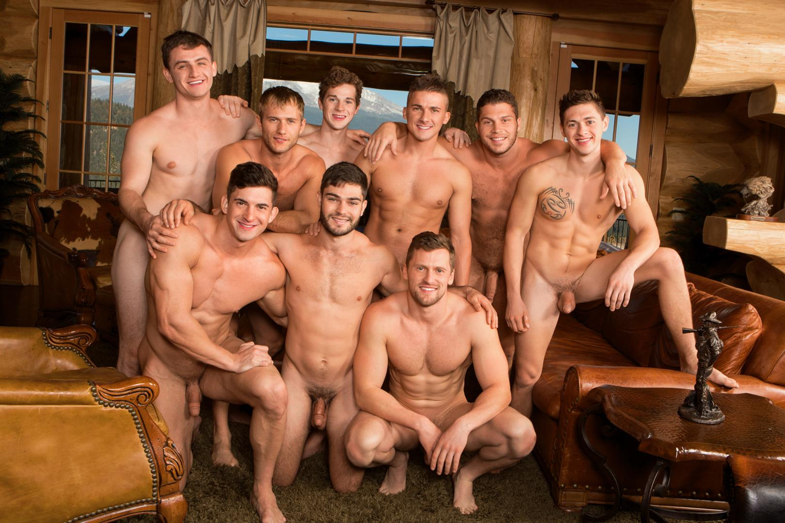 Sean Cody Winter Getaway Day 5 Big Dick Hunks Fucking Bareback Amateur Gay Porn 16 Sean Cody Takes The Boys On A 8 Day Bareback Winter Getaway