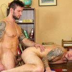 UK Naked Men Rado Zusila and Mickey Rush Uncut Cock Bareback Amateur Gay Porn 08 150x150 Younger British Guy Takes An Uncut Cock Up The Ass Bareback For The First Time