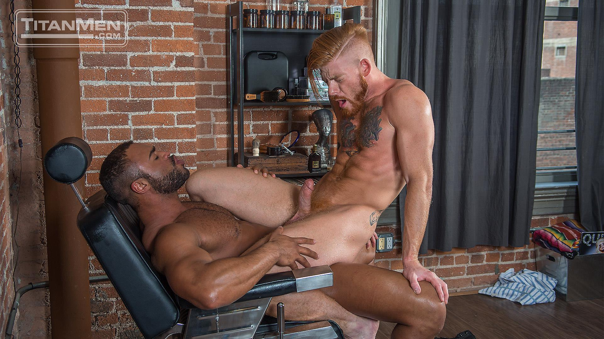 TitanMen Micah Brandt and Bennett Anthony Interracial Muscle Hunks Flip Fucking Amateur Gay Porn 19 Micah Brandt and Bennett Anthony Flip Fucking With Their Big Dicks