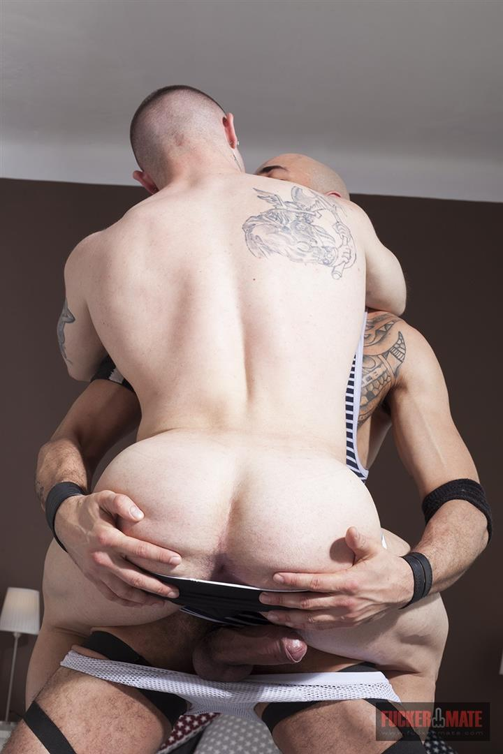 Fuckermate-Carlo-Fiero-and-Dalton-Sirius-Big-Uncut-Cock-Bareback-Amateur-Gay-Porn-6 Tatted Muscled Spaniard Gets Barebacked By A Huge Uncut Cock